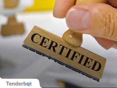 Сертификат о происхождении товара для участия в госзакупках.